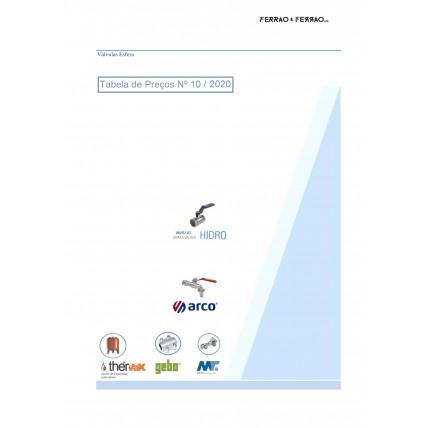 Tabela 10 - Torneiras, Passadores, Válvulas