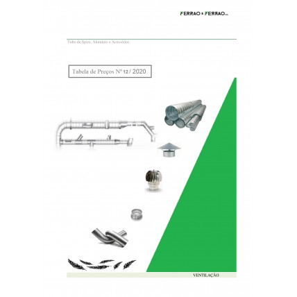 Tabela 12 - Alumínio Flexível, Spiro e Girândolas