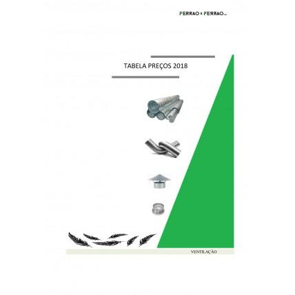 Tabela 12 - Alumínio, Inox Flexível e Spiro